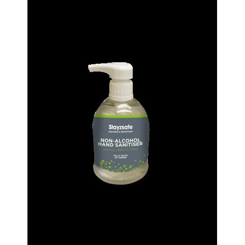 Produit désinfectant pour les mains sans alcool Stayzsafe
