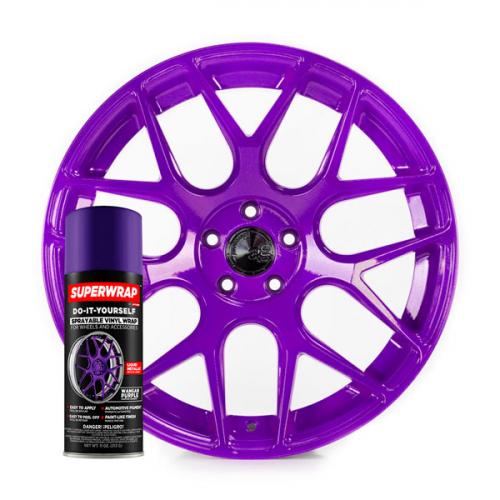 Superwrap Wangan Purple Vinyl -...