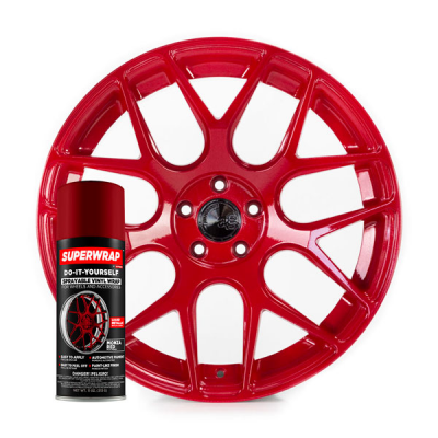 Superwrap Monza Red Vinyl -...