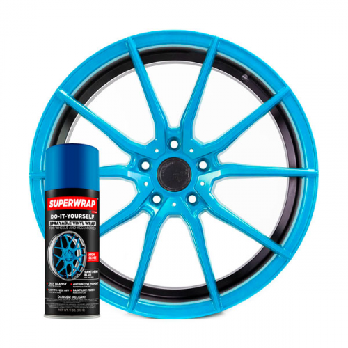 Superwrap Santorini Blue Vinyl -...