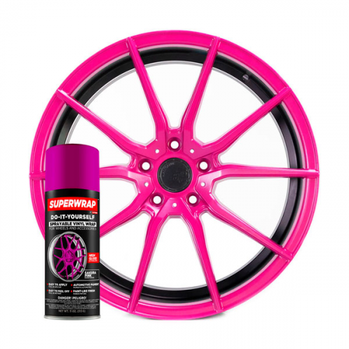 Superwrap Sakura Pink Vinyl - Solid...