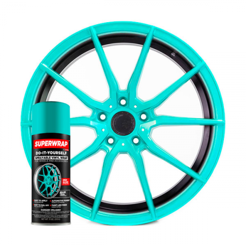 Miami Teal - Solid Series