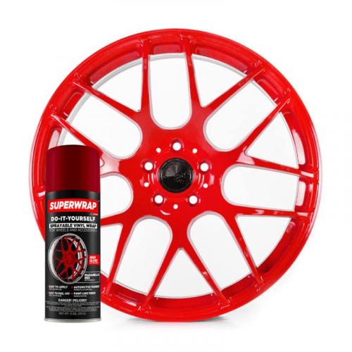 Superwrap Maranello Red Vinyl - Solid...