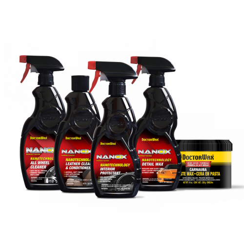 External and Internal Car Cleaning Kit