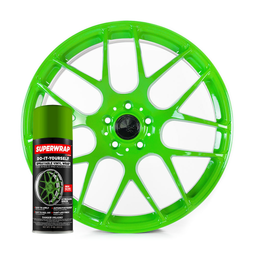 Superwrap Gymkhana Green Vinyl -...